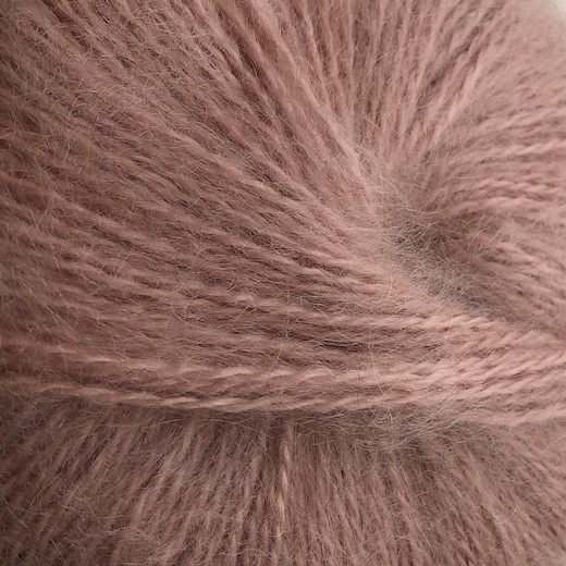 Dolce mohair - gammelrosa No. 145