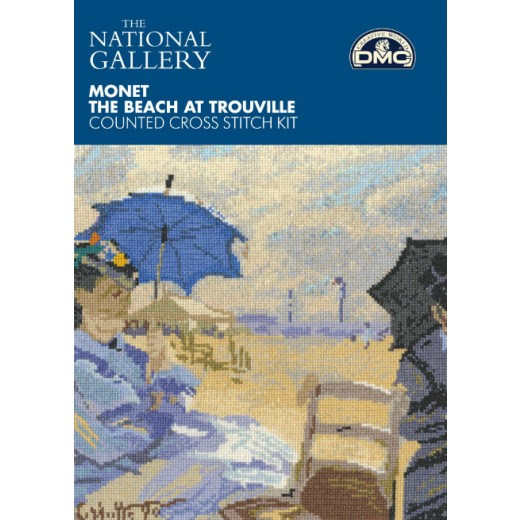 Monet the beach at Trouville BL1064/71-31