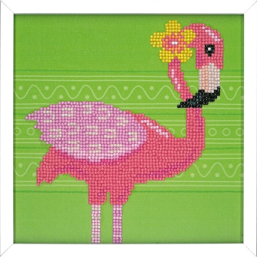Flamingo Diamond painting kit pn-01186097