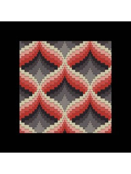 Stitch me one no. 201 Bargello langsting.-20
