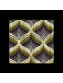 Stitch me one no. 202 Bargello langsting.-20