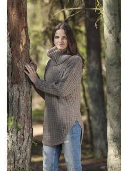 Strikkeopskrift til Sweater i cataluna 2307.